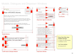 Screen geometry guide
