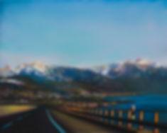 Andrew Hemingway Landscapes Morning Light, towards Vevey