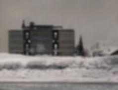 Andrew Hemingway, Landscapes, After the Snow Plough, Loèche-les-Bains