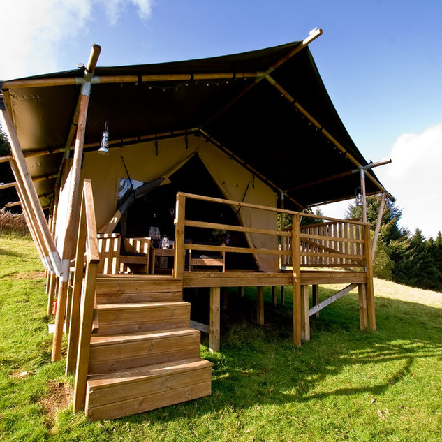 Brig y bryn safari tent