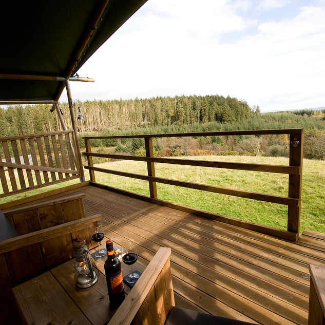 Brig y bryn view from verandah