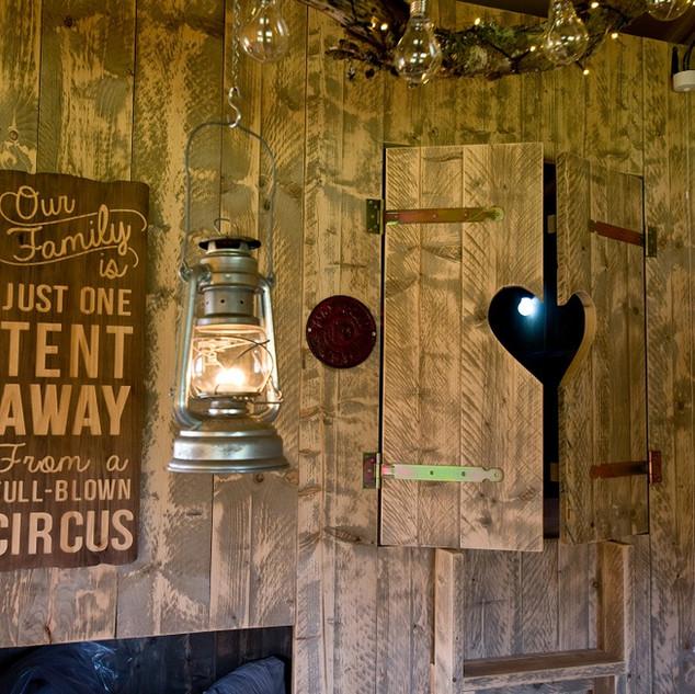 Brig y bryn cabin bed 2