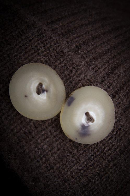 Musk Ox Horn Button