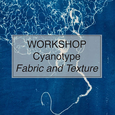 Introduction to Cyanotype: Fabric & Texture