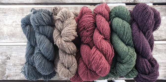 100% Qiviut Yarn- 1 ounce Skeins