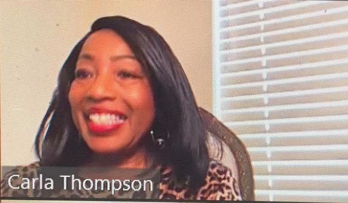Carla Thompson delivers a powerful etiquette workshop to students in St. Louis, Missouri.