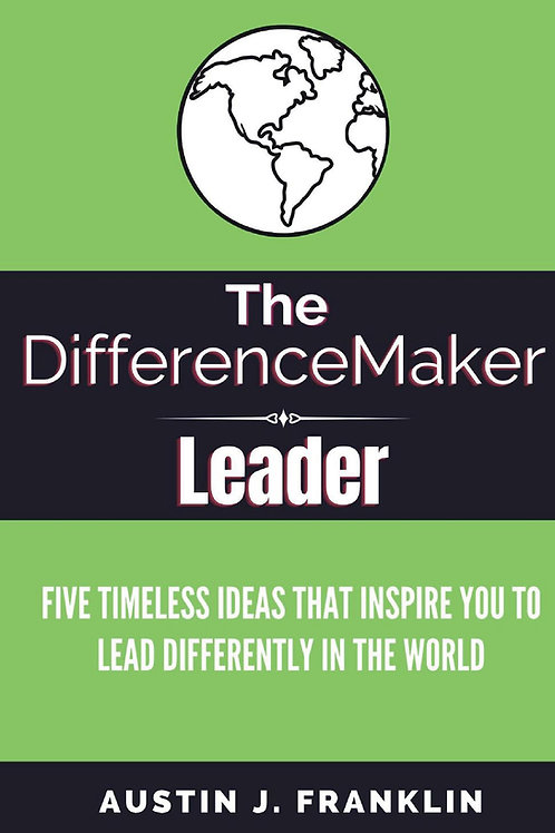 The DifferenceMaker Leader - Paperback edition