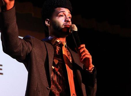 Austin Franklin, inspirational speaker, inspires students at Paxon School for Advanced Studies.