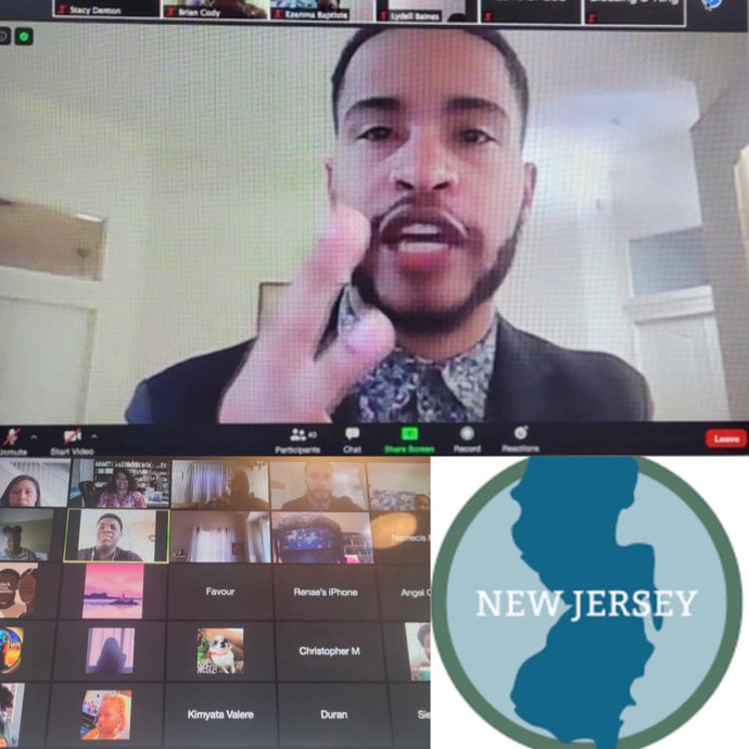 Austin J. Franklin delivered a powerful message as the keynote speaker for students in New Jersey.