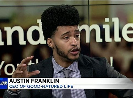 CEO, Author, and Inspirational Speaker -Austin Franklin was a guest on the Channel 4 Morning Show.