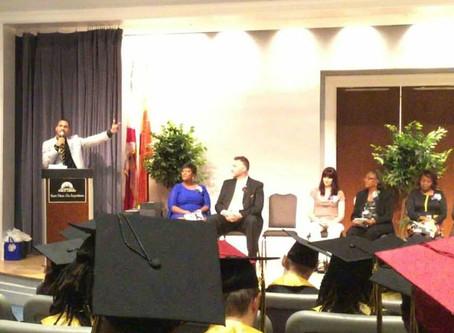 CEO Austin Franklin addresses 2016 Jacksonville Job Corps Graduates as Commencement Speaker