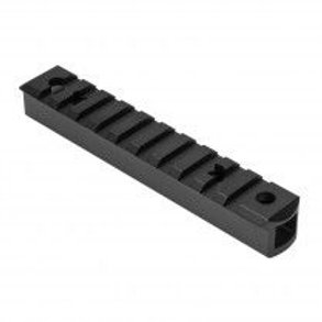 RUGER® 10/22 SEE THROUGH RECEIVER PICATINNY RAIL TALL - BLACK