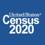 US 2020 Census Logo Blue