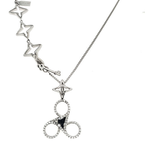 Shine Bright Necklace: Silver
