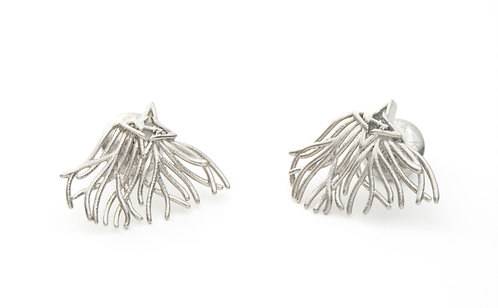 Roots & Wings Silver Tone
