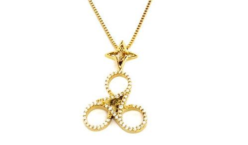 Shine Bright Necklace Gold