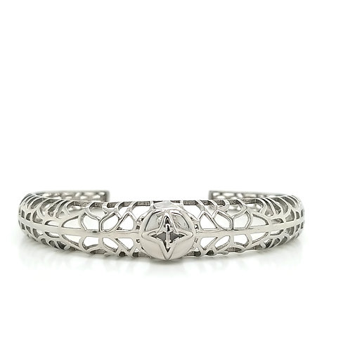Rooted Bracelet Silver Tone