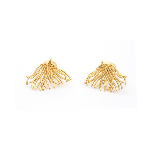 Roots & Wings Gold Tone