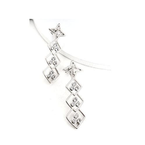 Dream Earrings Silver Tone