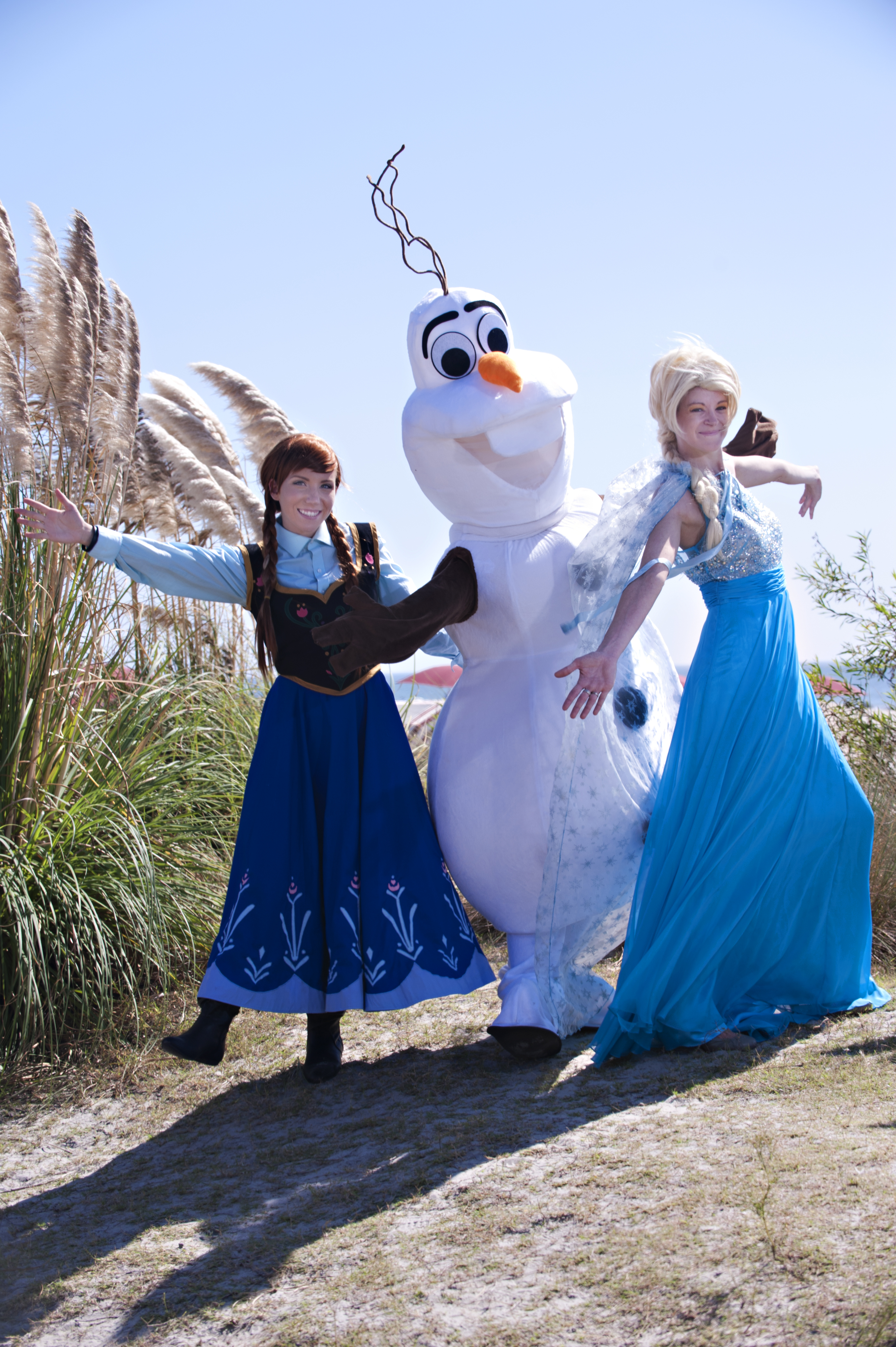 Ice Queen and friends having fun!