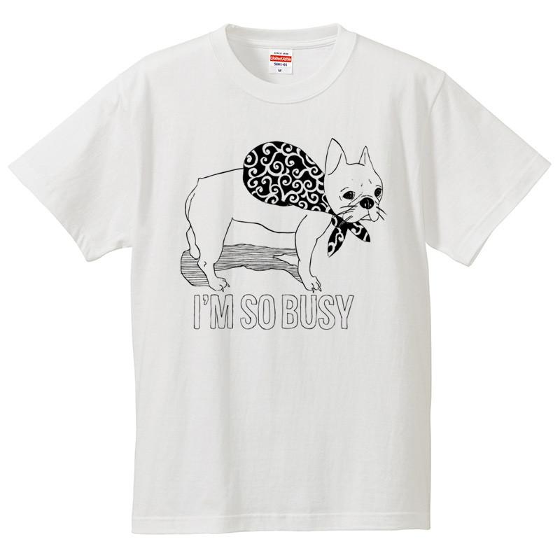 愛犬家が手描きでデザインした フレンチブルドッグ のTシャツ