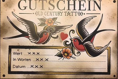 Old Century Tattoo Gutscheine