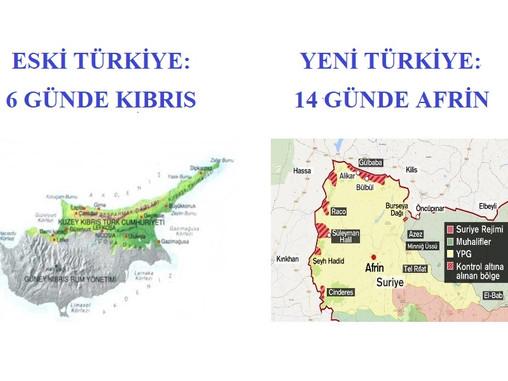 AFRİN'DE 14 GÜNDE 1,5 - 2 KİLOMETRE ! VER MEHTERİ VER...