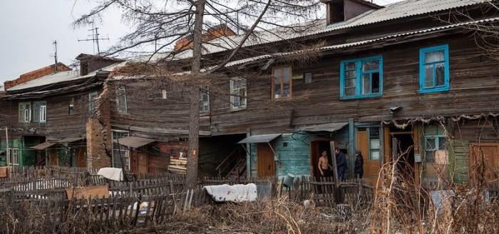 Putin Rusyasının köyleri !