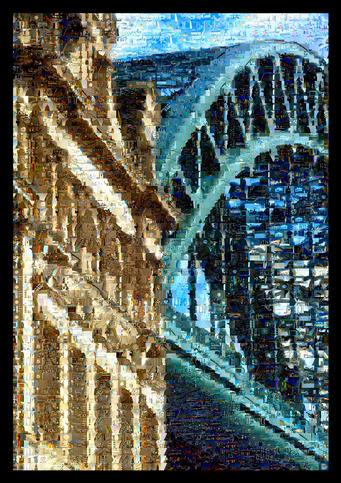 Tyne Bridge 2 Montage