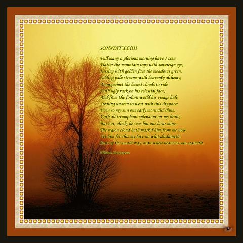 Sonnet XXXIII