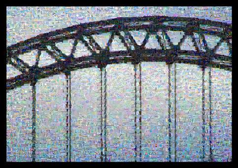 Tyne Bridge Montage