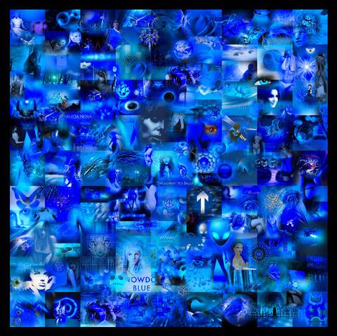 Scrap Art Blues