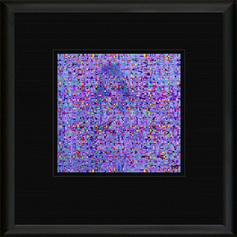 WOJ 47 Framed