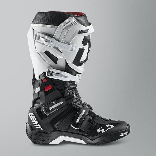 Buty LEATT (2020/2021) CROSS GPX 5.5 Flexlock boots white/black