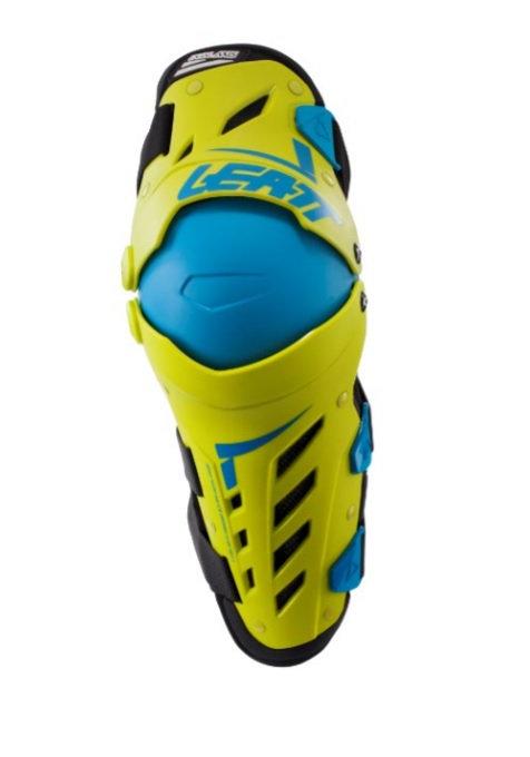 Nakolanniki LEATT ochraniacze kolan - kolor żółty/niebieski