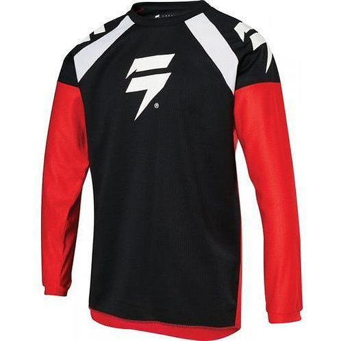 SHIFT WHIT3 LABEL RACE GRAPHIC 1 BLACK/RED
