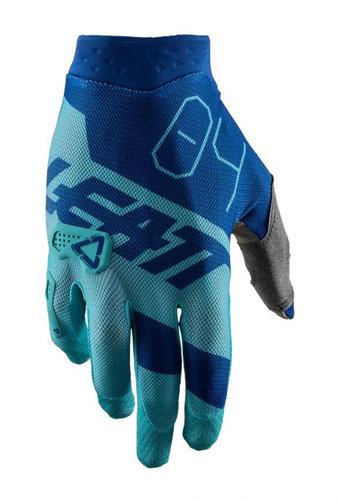 Rękawice LEATT GPX 2.5 X-FLOW AQUA kolor miętowy/granatowy