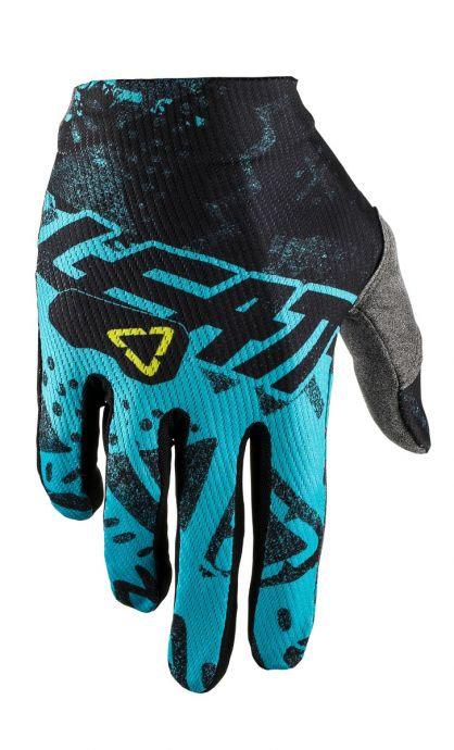 Rękawice cross LEATT GPX 1.5 GRIPR tech blue (kolor niebieski/czarny)