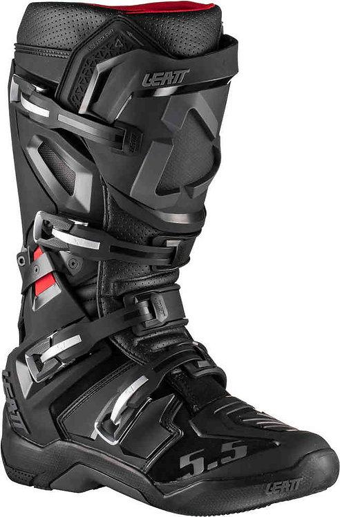 Buty LEATT (2020/2021) CROSS GPX 5.5 Flexlock boots black/ kolor czarny