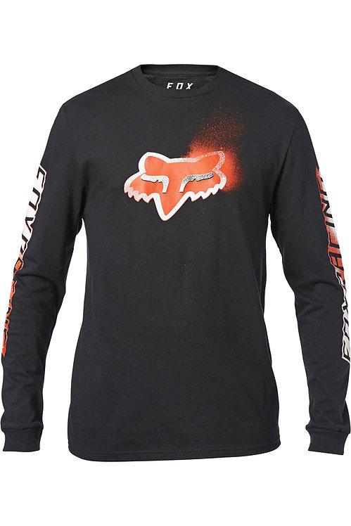 T-shirt FOX z długim rękawem L, XL