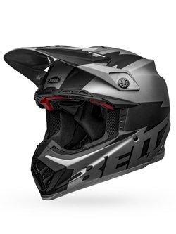Bell Moto-9 Flex Breakaway Matte Silver/Black