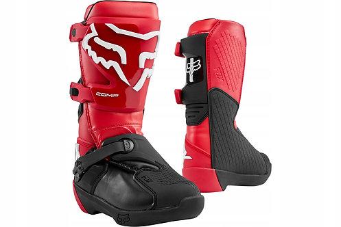 Buty FOX Junior Comp cross RED Y8 Y6 Y5
