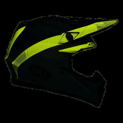 BELL MOTO-9 MIPS CHIEF BLACK/WHITE/GREEN  M