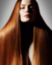 beauté naturel nude rousse écitorial cheveux