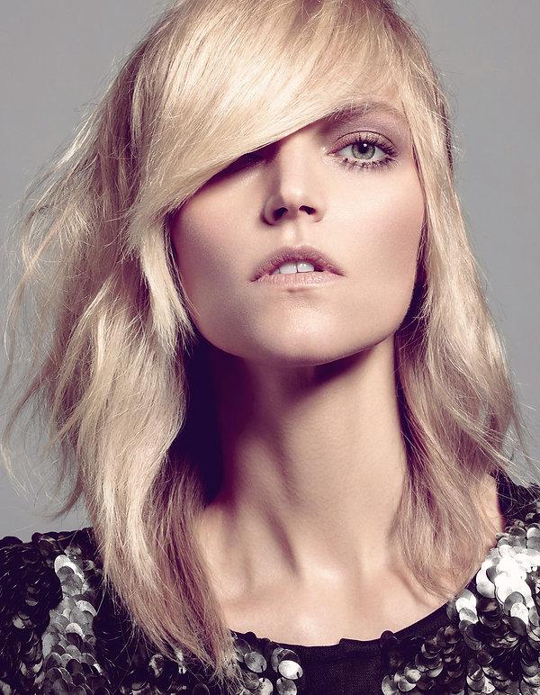 éditorial beauté  magazine Singularity hair