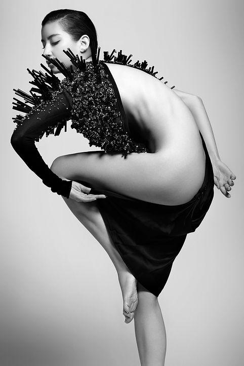éditorial beauté naturel nude black and with