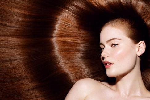 beauté naturel nude rousse campagne cheveux
