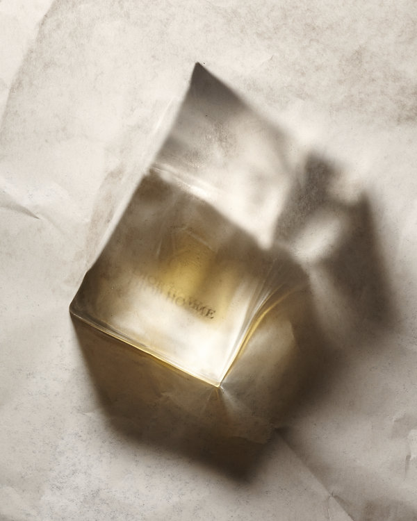 composition transparence artistique parfum  DIOR