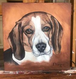 Pet portrait Simon -SOLD