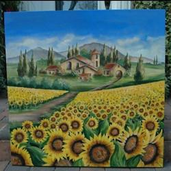 sunflower fields - SOLD